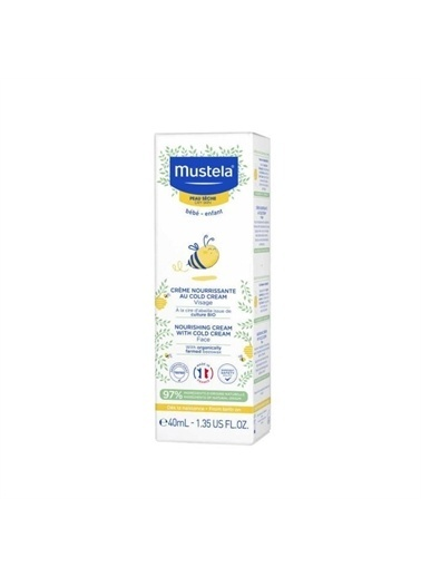 Mustela Mustela Nourishing Cream With Cold Cream Face 40Ml Renkli